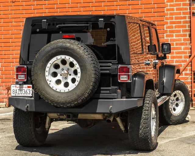 2011 Jeep Wrangler Unlimited 70th Anniversary Burbank, CA 7