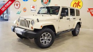 2011 Jeep Wrangler Unlimited Sahara 4X4 6 SPD TRANS,CLOTH,17IN WHLS,46K,WE F... in Carrollton TX, 75006