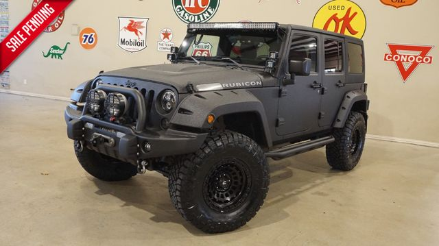 2011 Jeep Wrangler Unlimited Rubicon AEV HEMI,LIFTED,DUPONT KEVLAR,52K