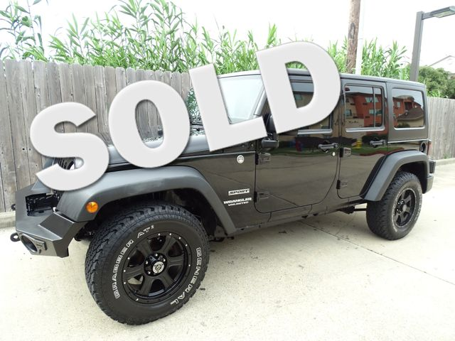 2011 Jeep Wrangler Unlimited Sport Corpus Christi, Texas 0