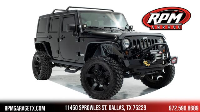 2011 Jeep Wrangler Unlimited Rubicon Supercharged with Many Upgrades