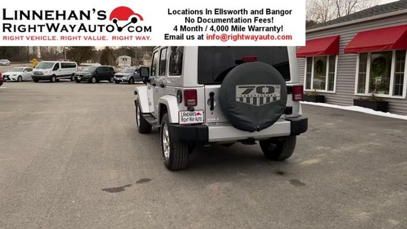 2011 Jeep Wrangler Unlimited 70th Anniversary  in Bangor, ME