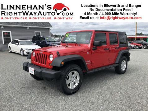 2011 Jeep Wrangler Unlimited Sport in Bangor