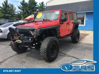 2011 Jeep Wrangler Unlimited 4WD Sport in Lapeer, MI 48446