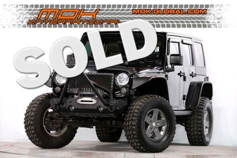 2011 Jeep Wrangler Unlimited - Lifted - Leather - Hardtop Rubicon in Los Angeles