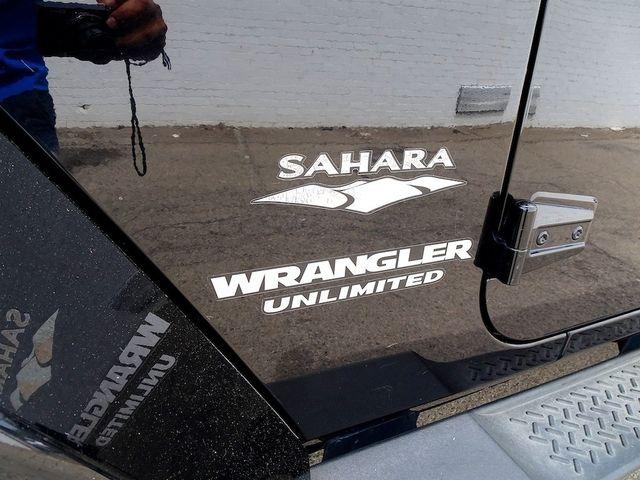 2011 Jeep Wrangler Unlimited Sahara Madison, NC 13
