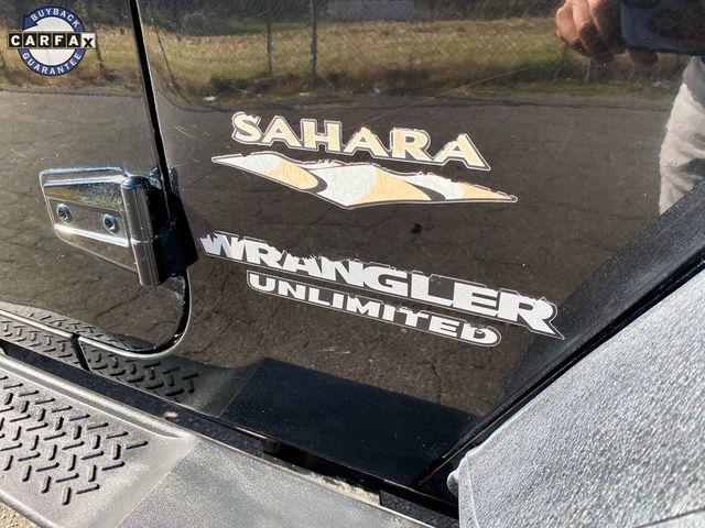 2011 Jeep Wrangler Unlimited Sahara Madison, NC 12