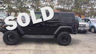 2011 Jeep Wrangler Unlimited Rubicon black ops Ontario, OH