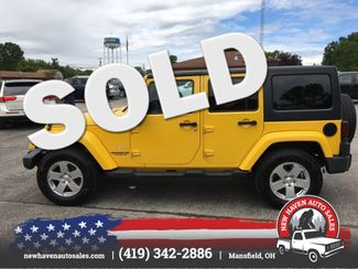 2011 Jeep Wrangler Unlimited Sahara 4x4 in Mansfield, OH 44903