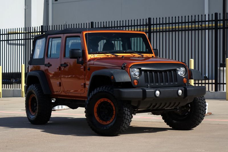 2011 Jeep Wrangler Unlimited Sport *Lifted*New tires*Finance Aval*   Plano, TX   Carrick's Autos in Plano TX