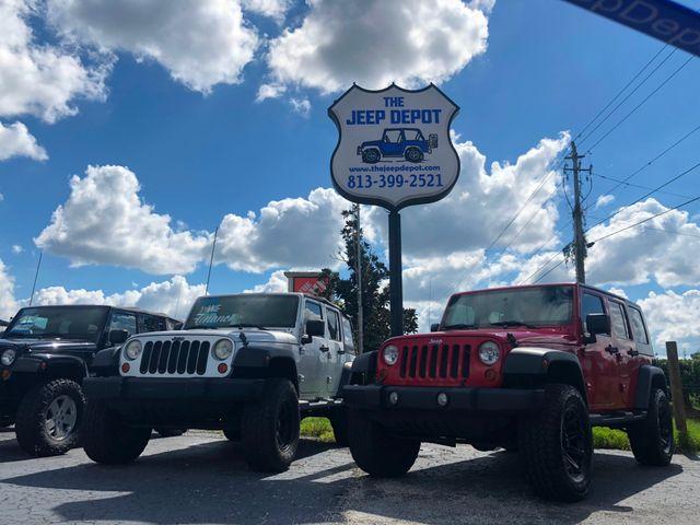 2011 Jeep Wrangler Unlimited Sahara Riverview, Florida 8
