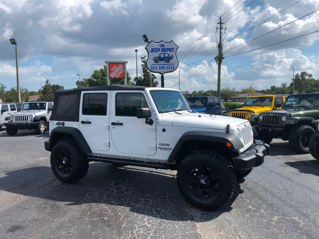 2011 Jeep Wrangler Unlimited Sport Riverview, Florida 9