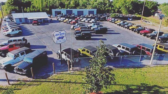 2011 Jeep Wrangler Unlimited Sport Riverview, Florida 7
