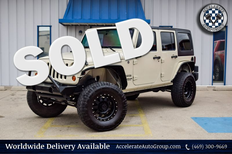 2011 Jeep Wrangler Unlimited Sport in Rowlett Texas