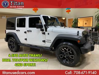 2011 Jeep Wrangler Unlimited Sport in Worth, IL 60482
