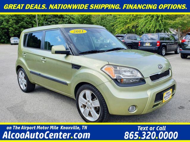 "2011 Kia Soul Premium w/Sunroof/ 18"" Alloys/ Rear Spoiler in Louisville, TN 37777"