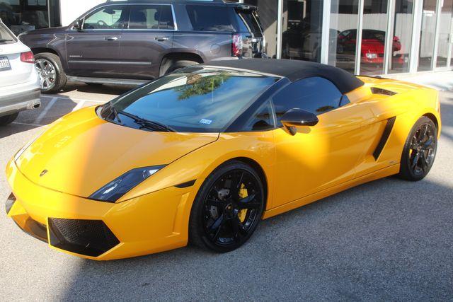 2011 Lamborghini Gallardo Spyder Houston, Texas 0