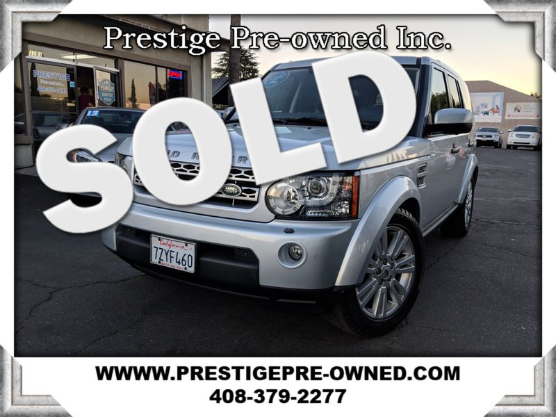 2011 Land Rover LR4 LUX ((**AWD//NAVI/BACK UP CAM/3RD ROW SEATING**))  in Campbell CA
