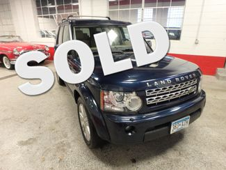 2011 Land Rover Lr4 Luxury 3RD ROW, B/U CAMERA ONE OWNER, NO ACCIDENTS! Saint Louis Park, MN