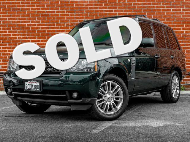 2011 Land Rover Range Rover HSE Burbank, CA