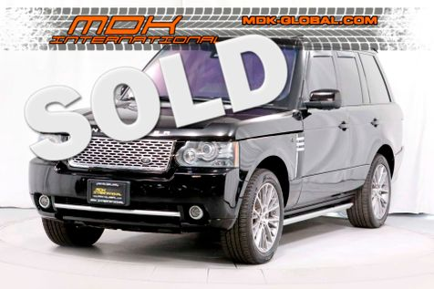 2011 Land Rover Range Rover SC - BLACK AUTOBIOGRAPHY LIMITED ED - $123K MSRP in Los Angeles