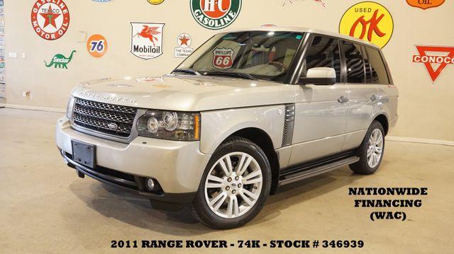 2011 Land Rover Range Rover HSE LUX ROOF,NAV,BACK-UP,HTD/COOL LTH,74K