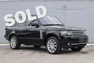 2011 Land Rover Range Rover SC Hollywood, Florida