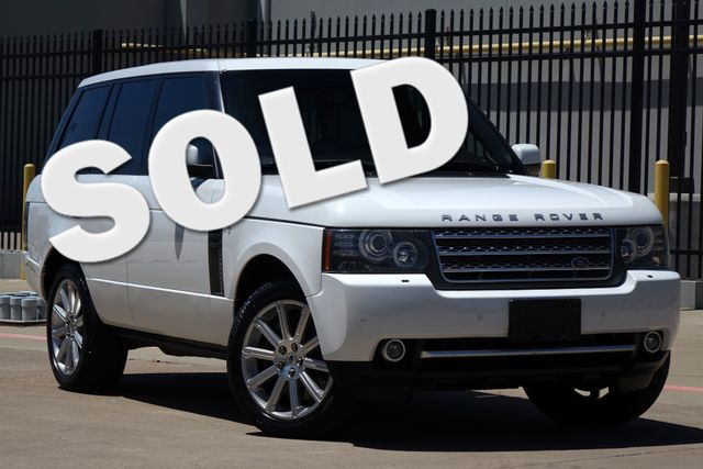 2011 Land Rover Range Rover S/C * Vision Assist * WHITE / IVORY * A/C Seats * Plano, Texas