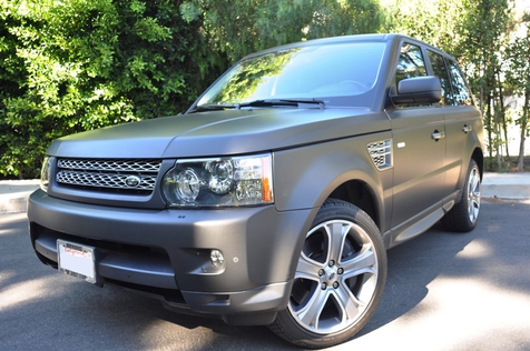 2011 Land Rover Range Rover Sport Super Charged, Matt Back Wrap in , California