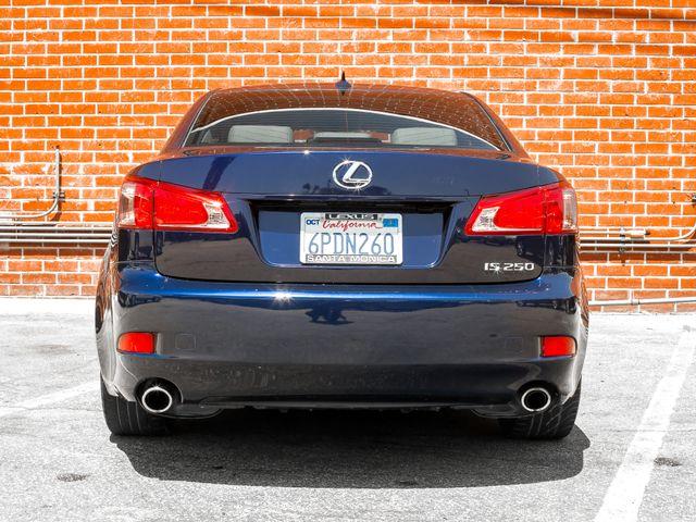 2011 Lexus IS 250 Burbank, CA 4