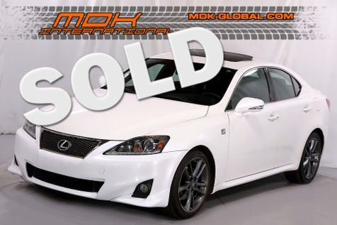 2011 Lexus IS 250 - F Sport pkg - Navigation - HID lights in Los Angeles