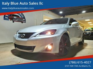 2011 Lexus IS 250 Base 4dr Sedan 6A in Miami, FL 33166