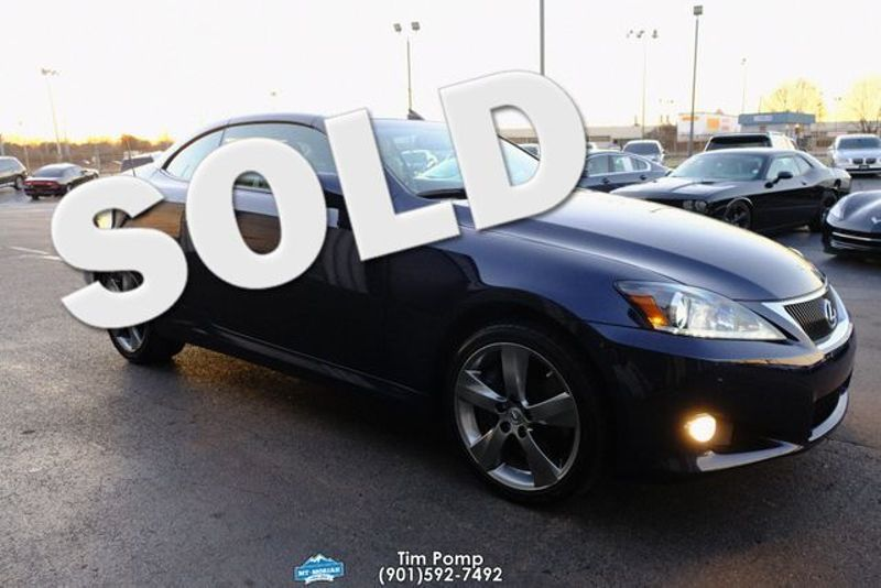 2011 Lexus IS 350C NAVIAGTION / BACK UP CAMERA | Memphis, Tennessee | Tim Pomp - The Auto Broker in Memphis Tennessee
