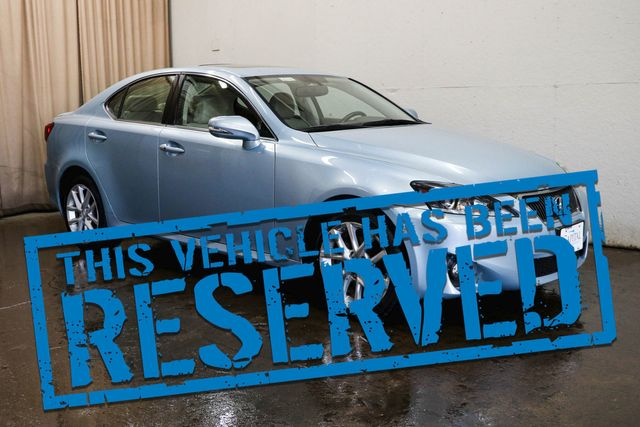 2011 Lexus IS250 AWD Luxury-Sports Car w/Navigation, Backup Cam, Heated/Cooled Seats & 13-Speaker Audio