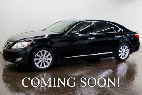 2011 Lexus LS460 L AWD w/Mark Levinson Audio, Navigation, Heated/Cooled Seats & Adaptive Ride in Eau Claire