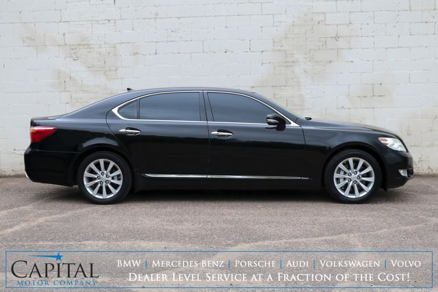 2011 Lexus LS460 L AWD w/Mark Levinson Audio, Navigation, Heated/Cooled Seats & Adaptive Ride in Eau Claire, Wisconsin 54703