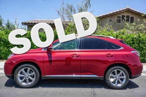 2011 Lexus RX 350  in cathedral city
