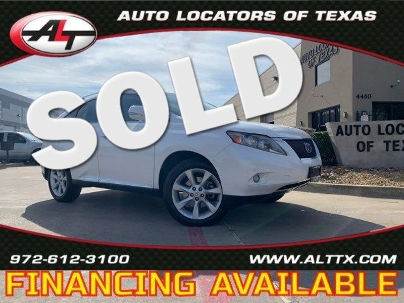 2011 Lexus RX 350  | Plano, TX | Consign My Vehicle in Plano TX