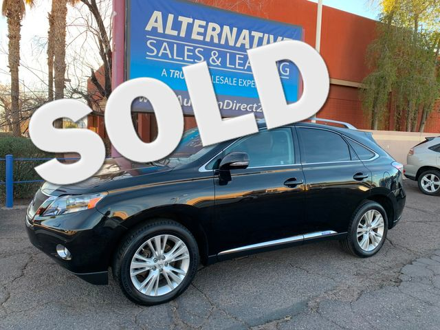 2011 Lexus RX 450h 3 MONTH/3,000 MILE NATIONAL POWERTRAIN WARRANTY Mesa, Arizona 0