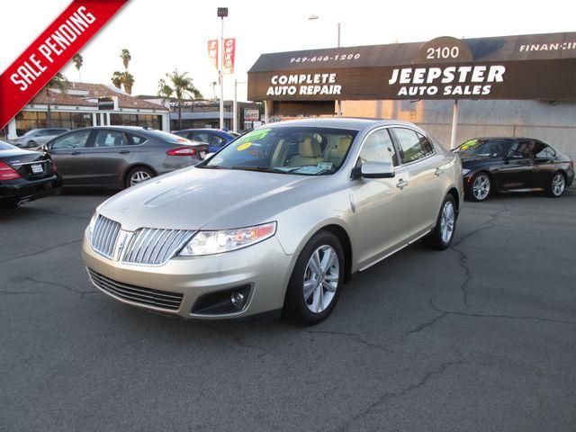 2011 Lincoln MKS Sedan in Costa Mesa California, 92627