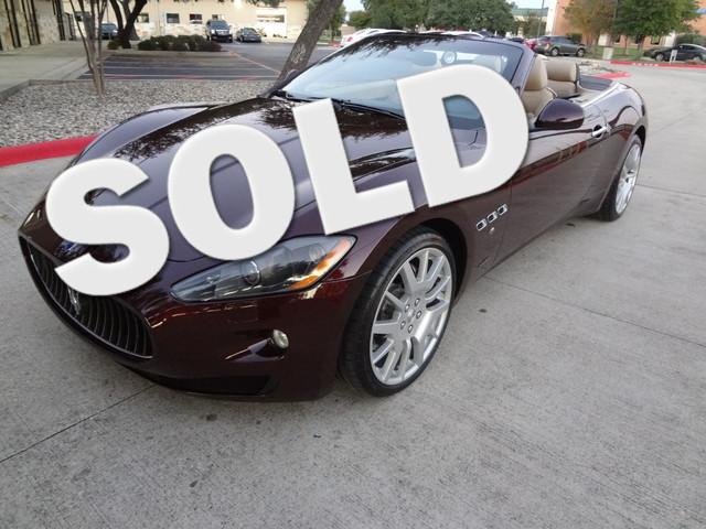 2011 Maserati GranTurismo Convertible Austin , Texas 0