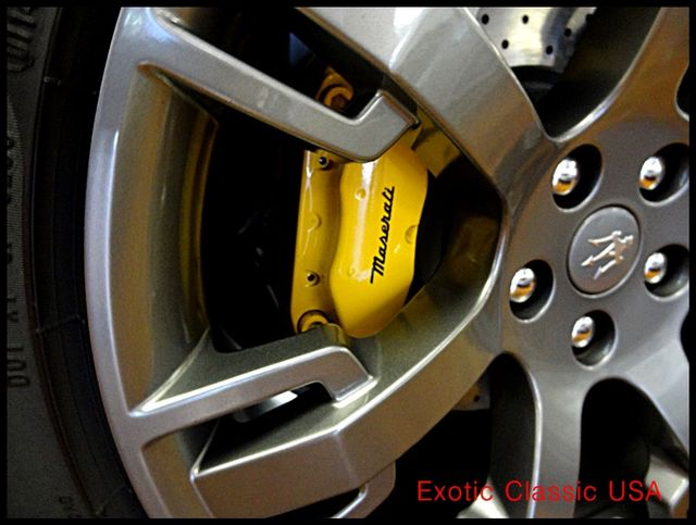 2011 Maserati GranTurismo S Convertible La Jolla, California 45
