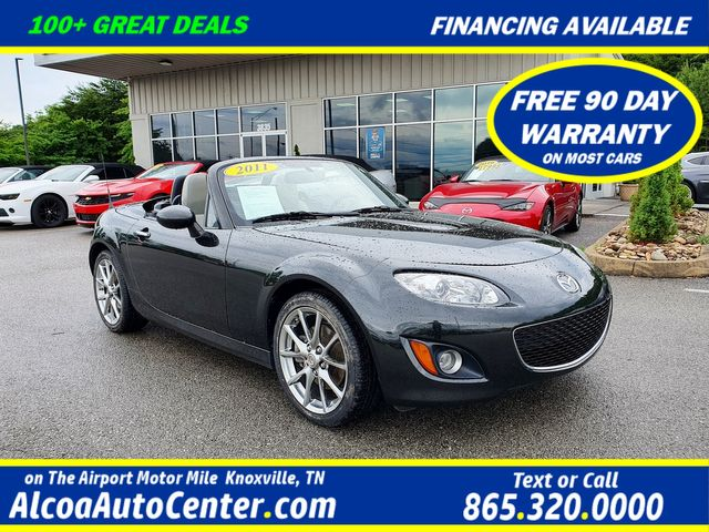 2011 Mazda MX-5 Miata Grand Touring Convertible 6M w/Power Hard Top in Louisville, TN 37777