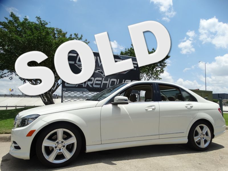 2011 Mercedes-Benz C 300 Sport Sedan, Auto, Sunroof, Alloy Wheels  | Dallas, Texas | Corvette Warehouse