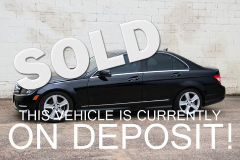 2011 Mercedes-Benz C300 Sport 4Matic AWD Luxury Car with Tinted Windows, Heated Seats and Low Miles in Eau Claire