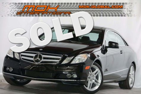 2011 Mercedes-Benz E 350 - P2 - Panoramic roof - Distronic Plus in Los Angeles