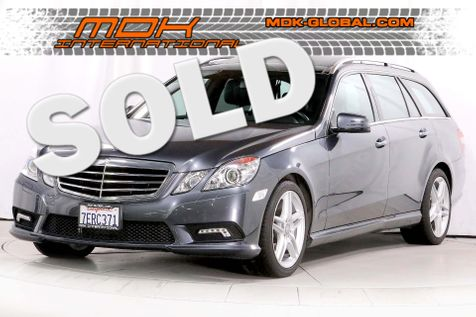 2011 Mercedes-Benz E 350 Sport - AMG - Panoramic sunroof - P2 pkg in Los Angeles