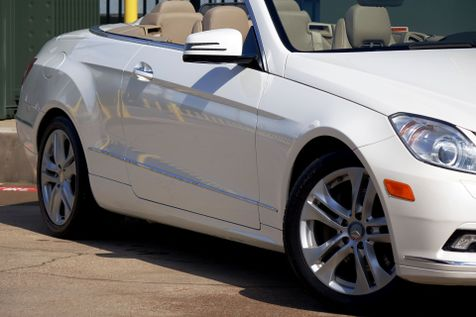 2011 Mercedes-Benz E 350 Convertible* Pearl White* Leather* Only 85k Mi** | Plano, TX | Carrick's Autos in Plano, TX