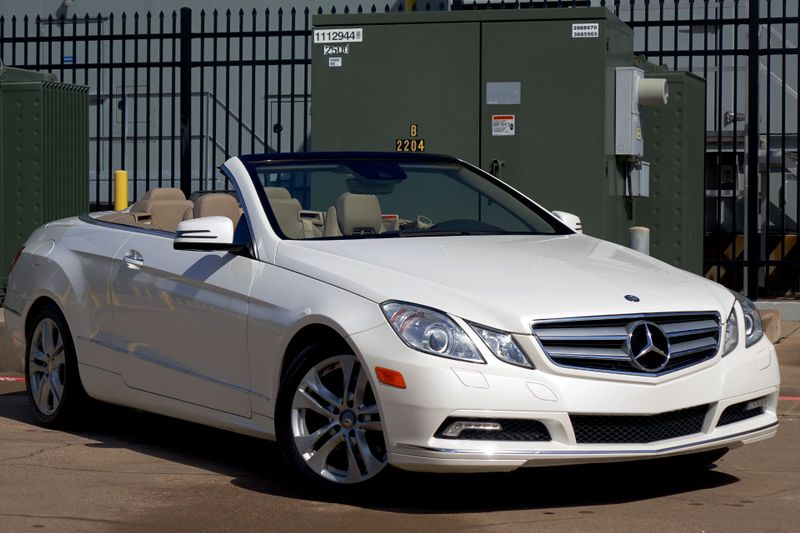 2011 Mercedes-Benz E 350 Convertible* Pearl White* Leather* Only 85k Mi** | Plano, TX | Carrick's Autos in Plano TX