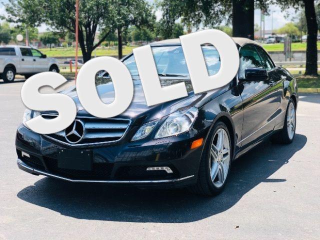 2011 Mercedes-Benz E 350 E350 Cabriolet in San Antonio, TX 78233